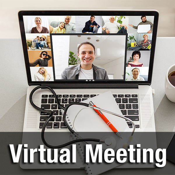 Virtual Meeting; Conceptual Image