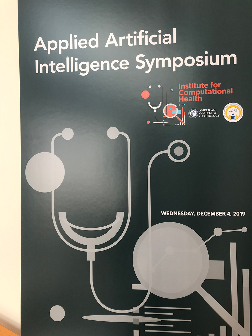 Institute for Computational Health Applied Artificial Intelligence (AI) Symposium