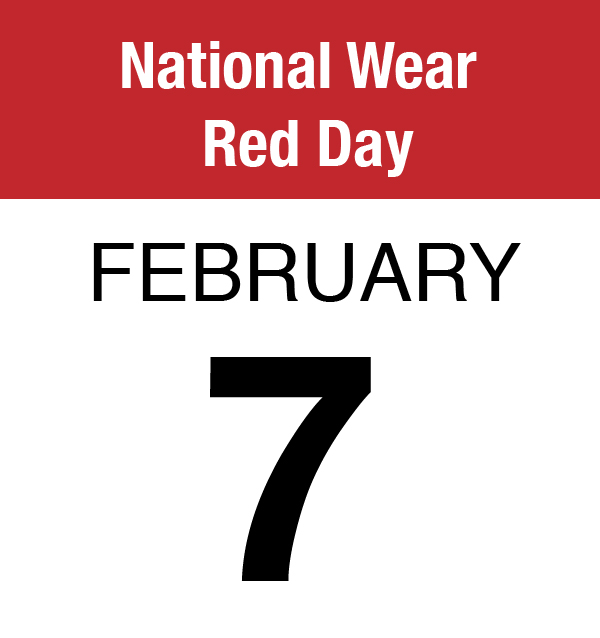 National Wear Red Day (Feb. 7)