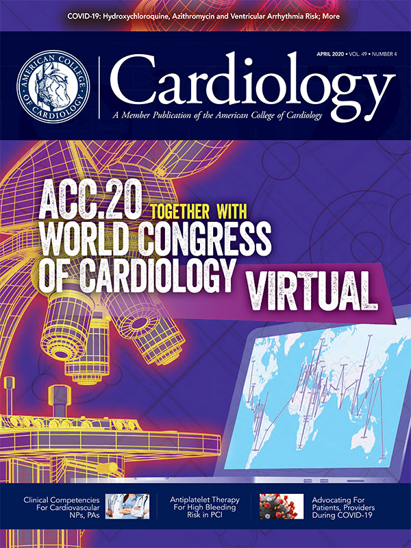 April 2020 Cardiology magazine