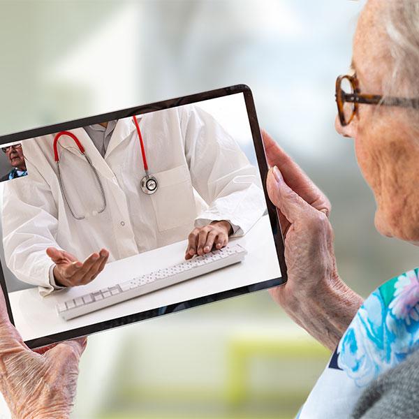 Telehealth, Telemedicine; Conceptual Image