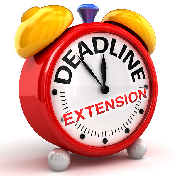 Deadline Extension