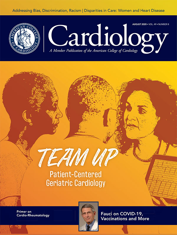 Cardiology Magazine August 2020, click here to read the e-pub edition