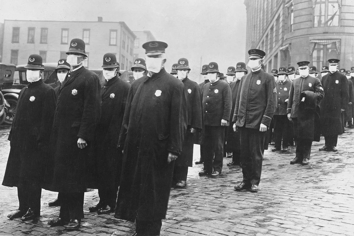 1918 Flu Pandemic; Public Domain