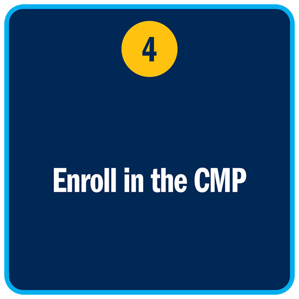 Enroll in the CMP