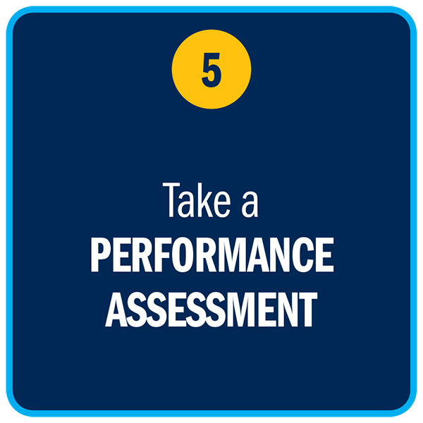 Take a PERFORMANCE ASSESSMENT