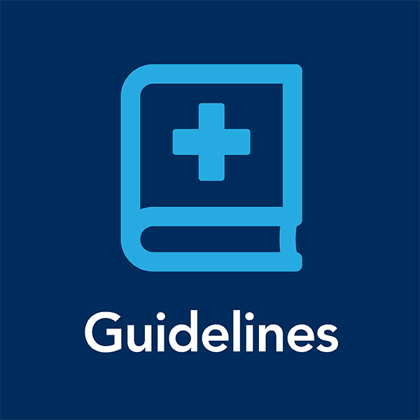 Guidelines: Get the latest guidelines in 21+ clinical topic hubs