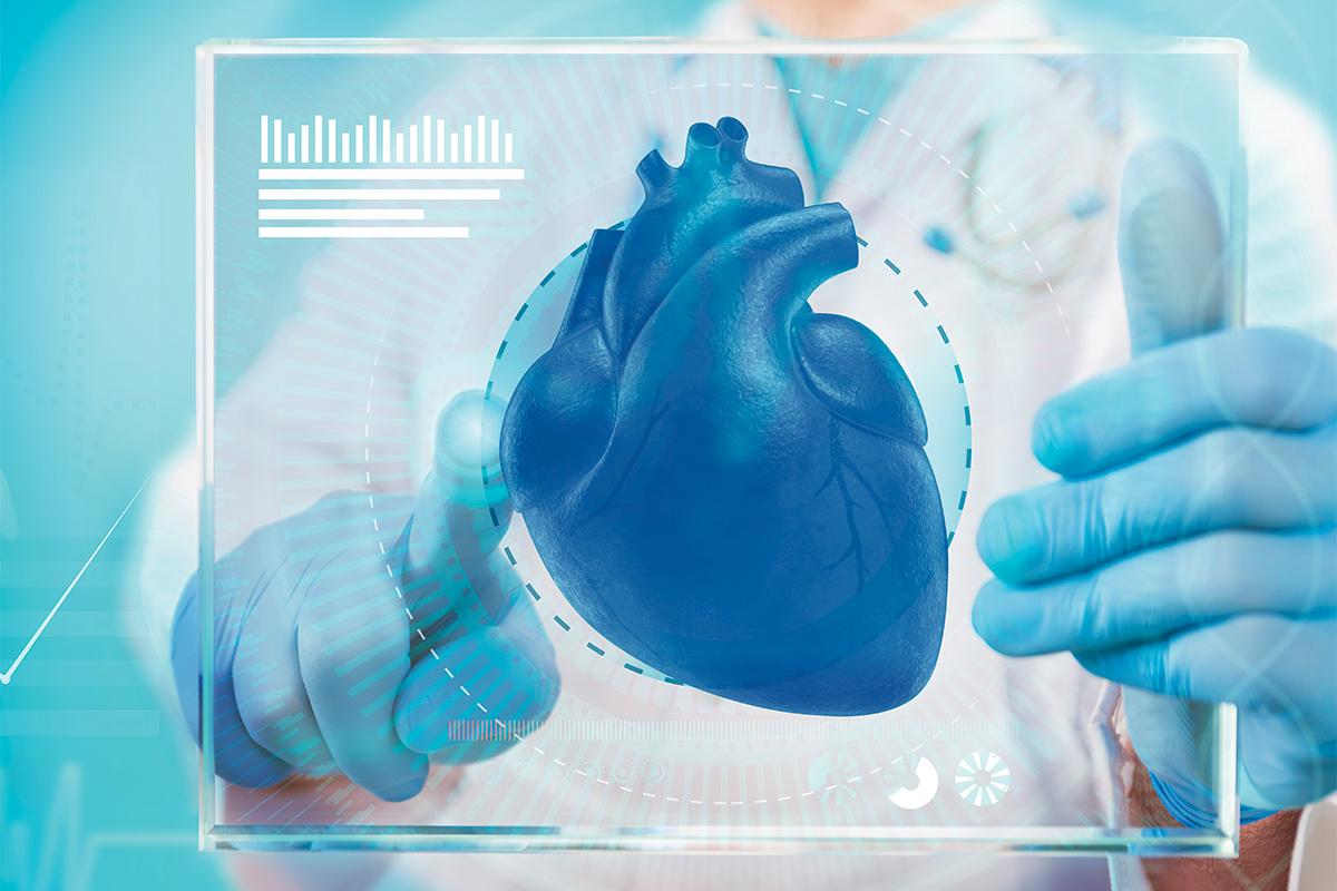 Futuristic Heart; Conceptual Image