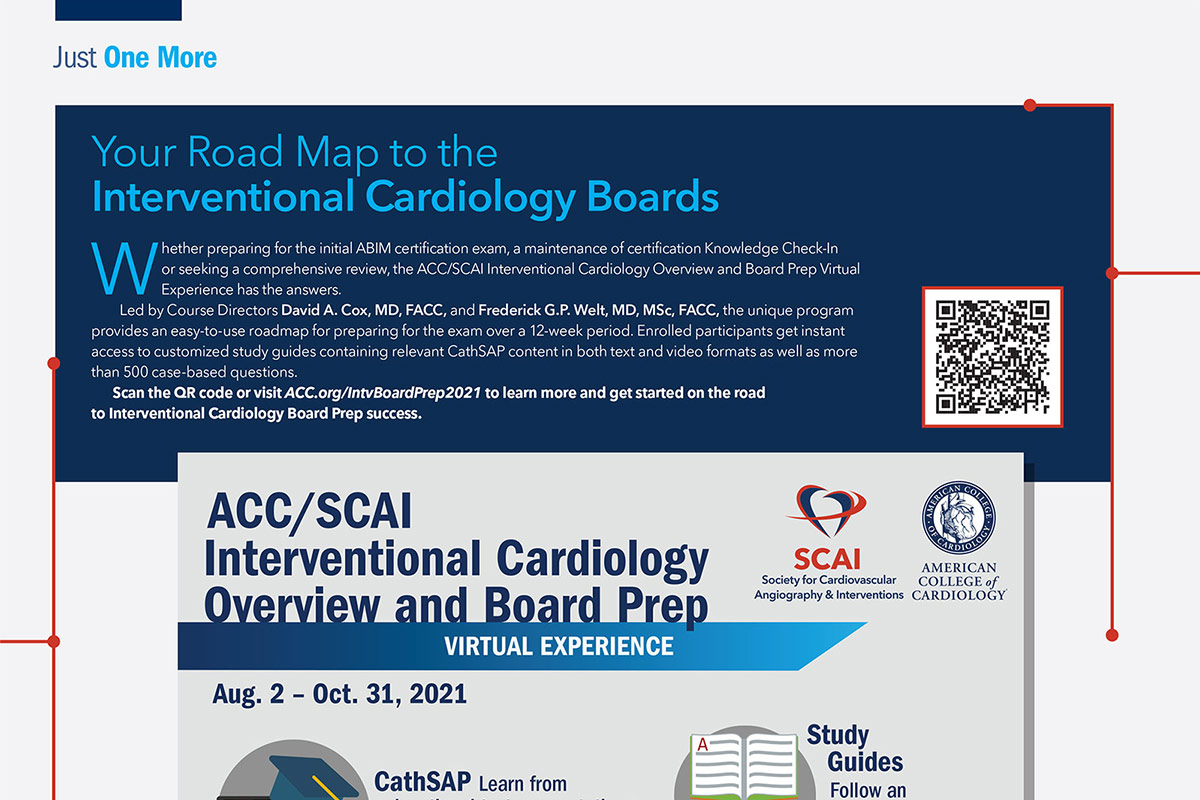 Just One More   Road Map to the Interventional Boards