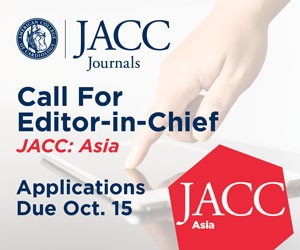 ACC Accepting Applications For JACC: Asia Editor-in-Chief
