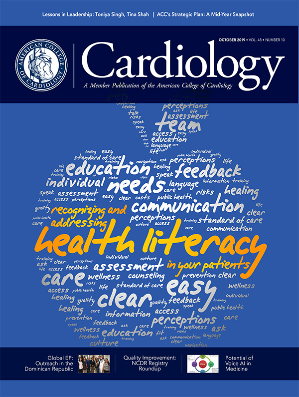 October 2019 Cardiology magazine