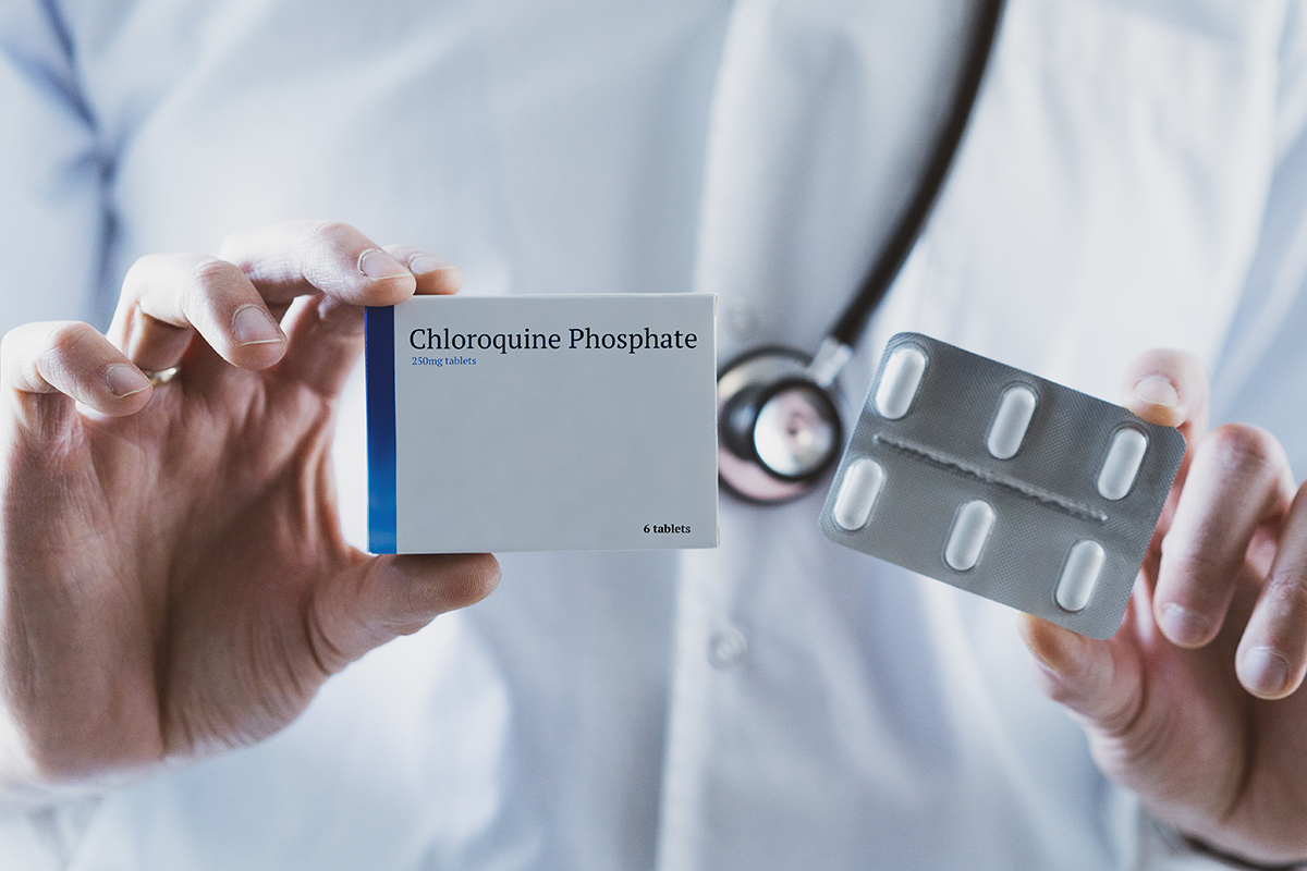 hydroxychloroquine; Conceptual Image