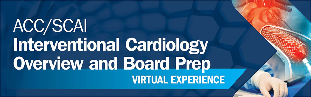 Interventional Board Virtual Experience