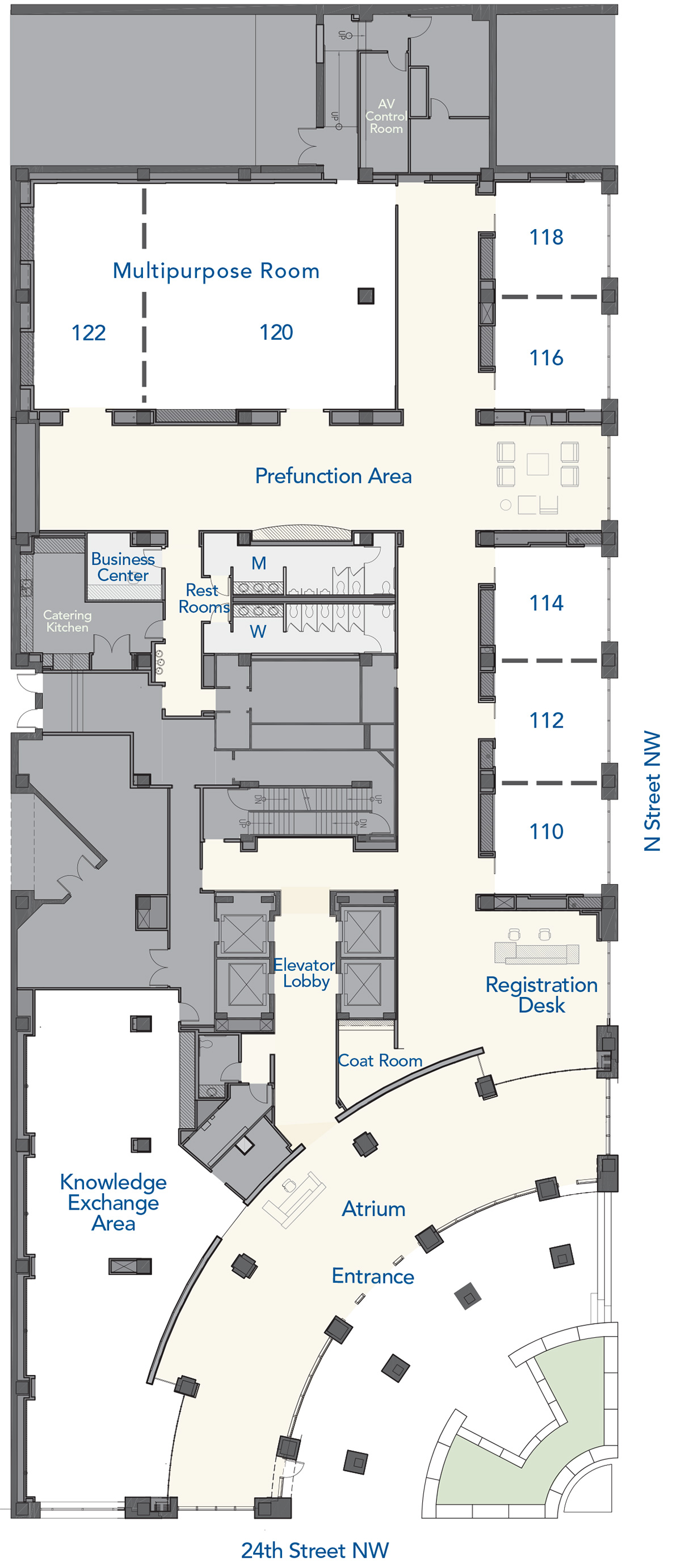 Conference Center Layout