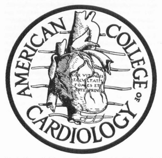 Fig. 7 The seal of the American College of Cardiology. copied from Plate 90 of the Vesalian Alias of Human Anatomy.