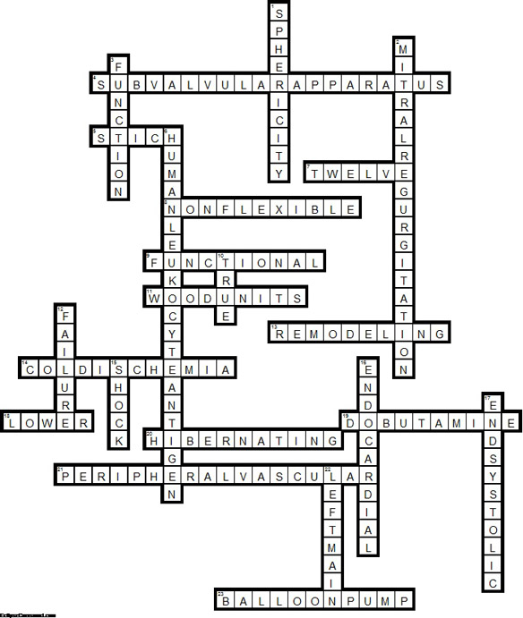CardioSource WorldNews January 2013: Crossword Puzzle