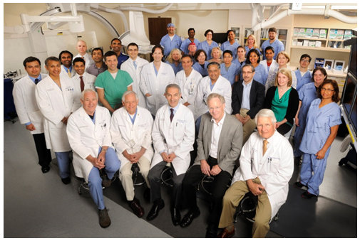 The team at the Emory University Hospital cath lab