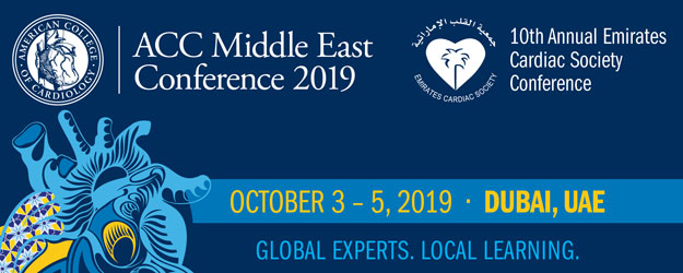 ACC Middle East Conference 2019 together with 10th Emirates