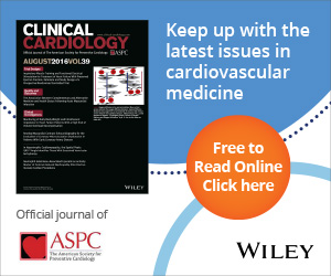 Keep up with the latest issues in cardiovascular medicine; Clinical Cardiology; Official Journal of the ASPC