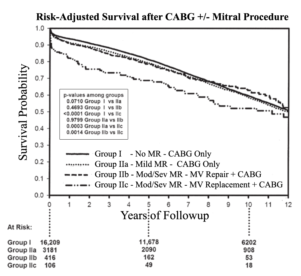 Mitral Valve Repair Vs Replacement For Ischemic Mr An