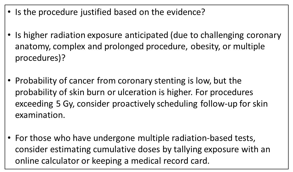 Shared Decision-Making in Radiation Exposure for Patients and ...