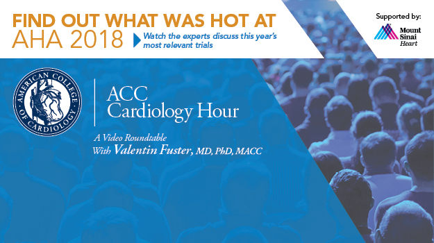 Cardiology Hour at AHA