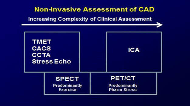 non-invasive assessment of CAD