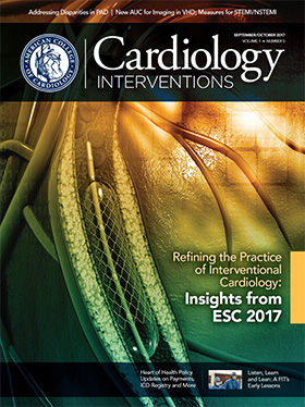 Cardiology Interventions Magazine, July/August 2017