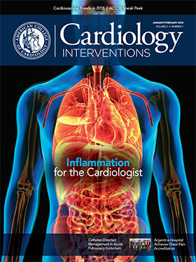 Cardiology Interventions Magazine, Jan/Feb 2018