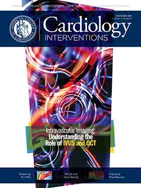 Cardiology Interventions Magazine, July/Aug 2018