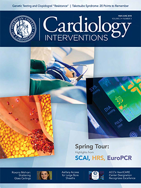 Cardiology Interventions Magazine, May/June 2018