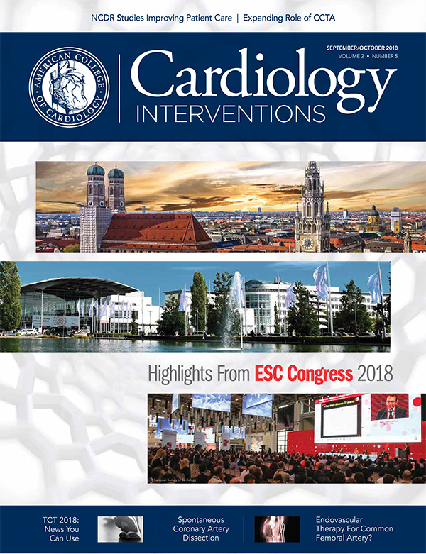 Cardiology Interventions Sept/Oct 2018