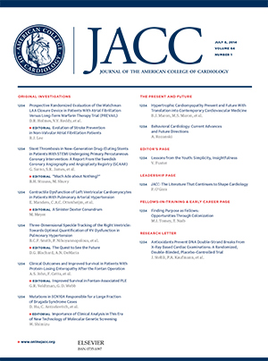 JACC in a Flash - American College of Cardiology