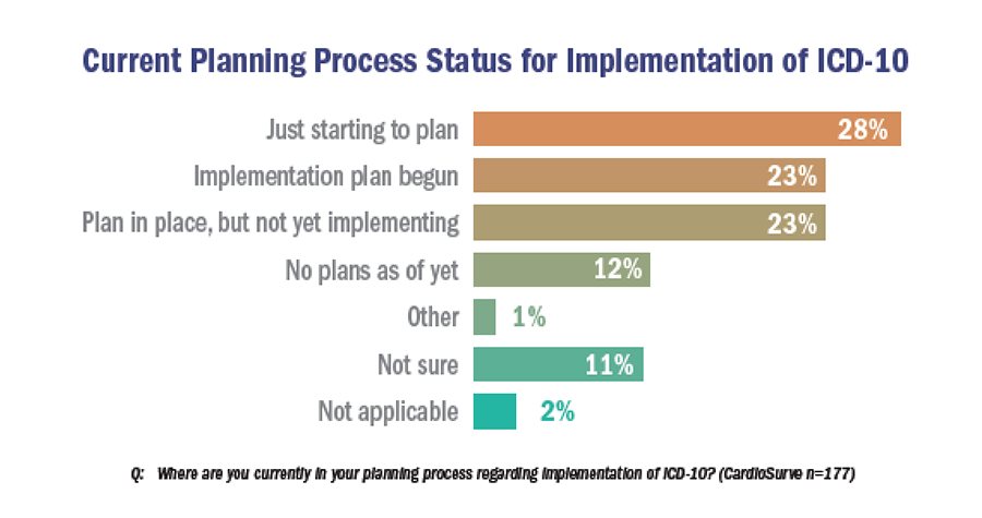 Current Planning Process Status for Implementation of ICD-10